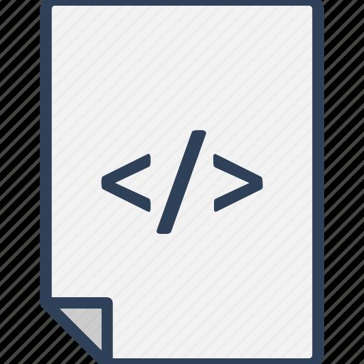 development, development file, div, source file icon