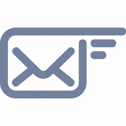 email, envelope, express, fly, mail, message, wings icon