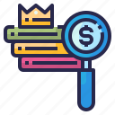 marketing, seo, ranking, search, business icon
