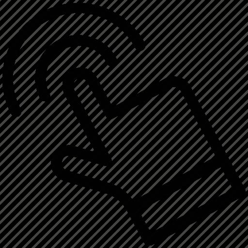 click, cursor, finger touch, pay per click, ppc, swipe icon