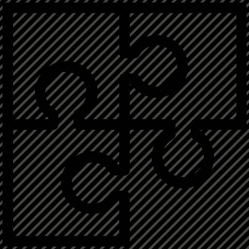 jigsaw, piece, plugin, puzzle, teamwork, unit icon