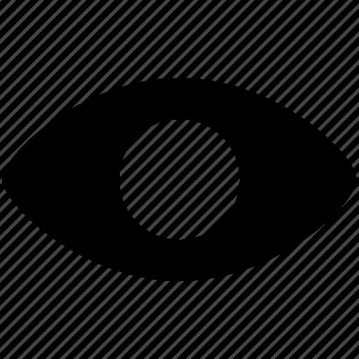 eye, look, look at, retina, view, visibility, visible icon