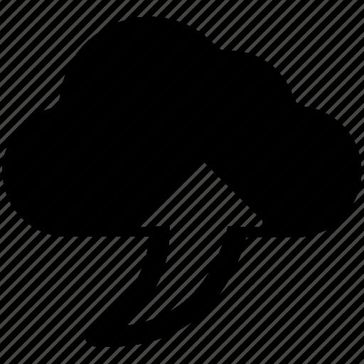 cloud network, cloud upload sign, cloud uploading, upload information icon