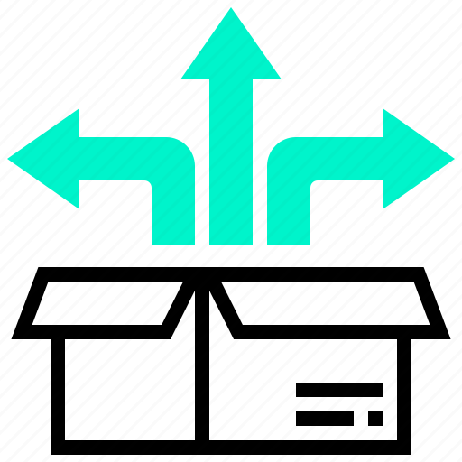 distribution, goods, growth, product, transport icon