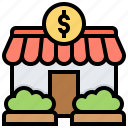 business, owner, sale, self, store icon