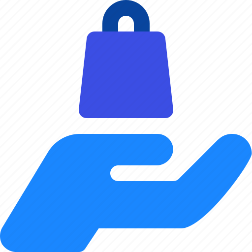 Bag, buy, hand, product, shopping icon - Download on Iconfinder