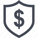 certified, dollar, home, money, online, sign icon