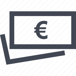 currency, euro, home, money, online, sign icon