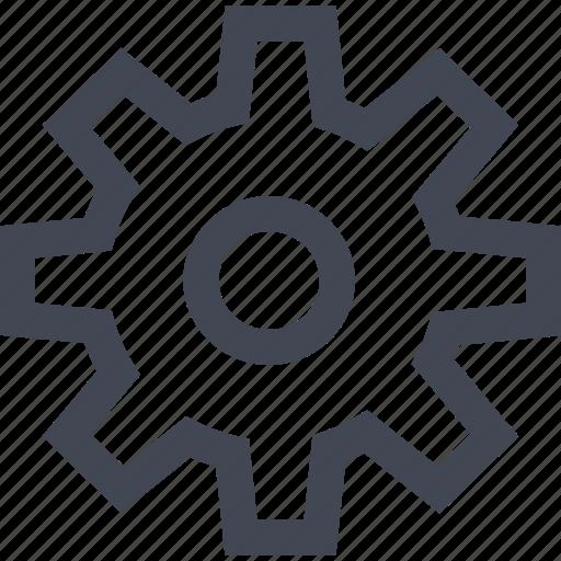 gear, home, money, online, work icon