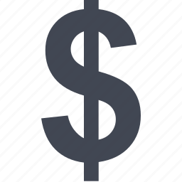 currency, dollar, online, sign icon