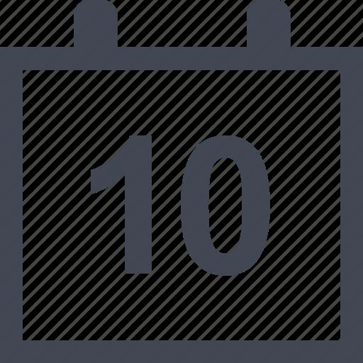calendar, data, event, online icon