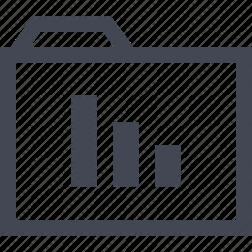 archive, data, folder, online icon