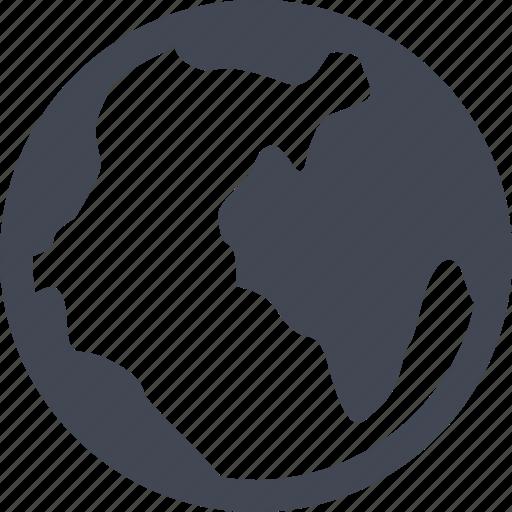 globe, map, online, world icon