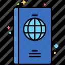 passport, travel, document