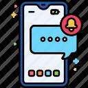 sms, notification, alert