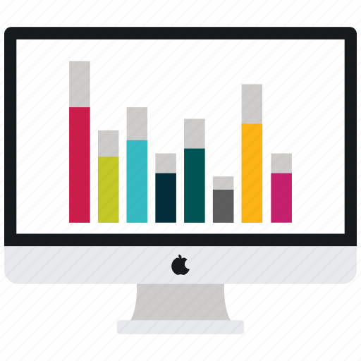apple, computer, imac, mac, share market icon