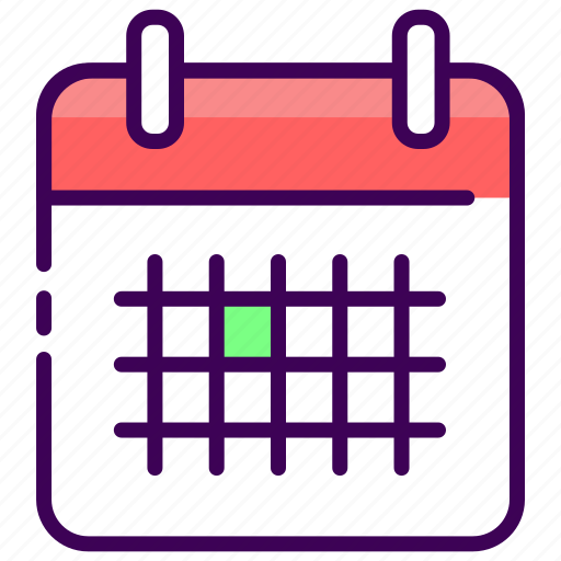 agenda, calendar, date, schedule, time manage icon
