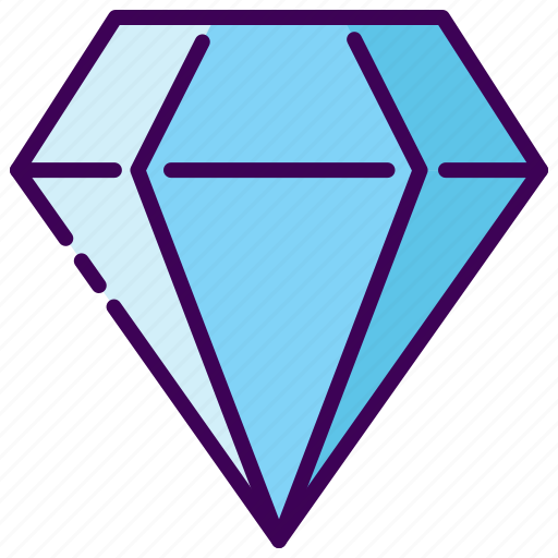 diamond, luxury, rich, wedding icon