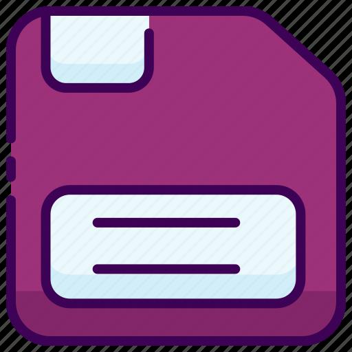 disc, discket, save icon