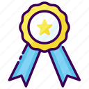appreciation, medal, rank, warranty, win, winner icon