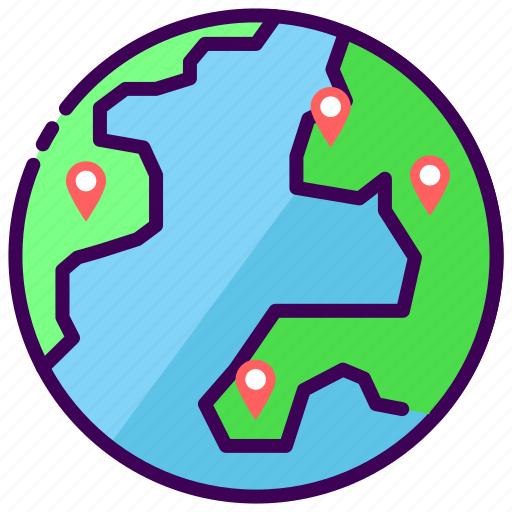 branch, branch of the store, location, store, world icon