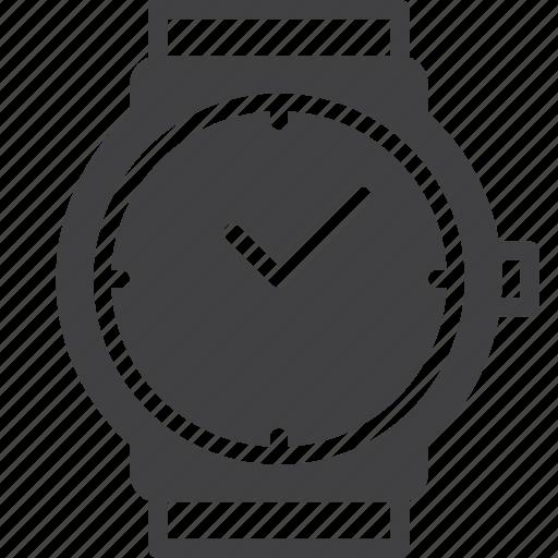 time, watch, wrist, wristwatch icon