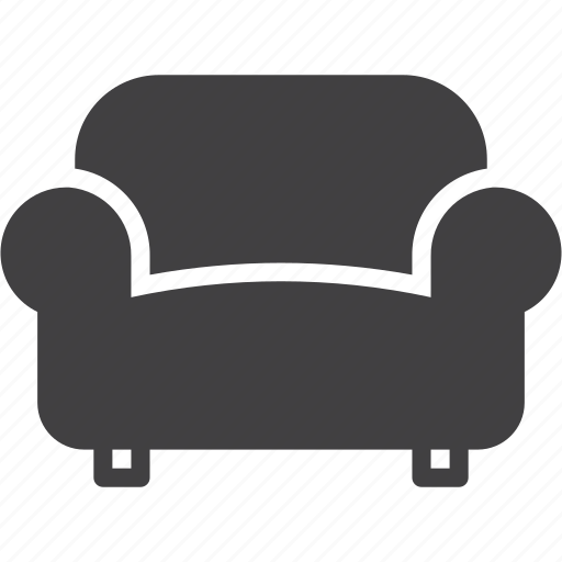 Couch, furniture, lounge, sofa icon - Download on Iconfinder