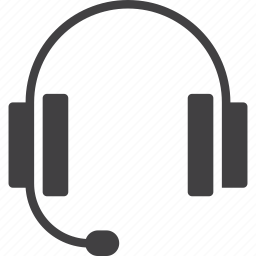 headset, online, support icon