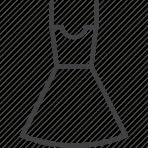 clothes, dress, fashion, shop, wear, woman icon