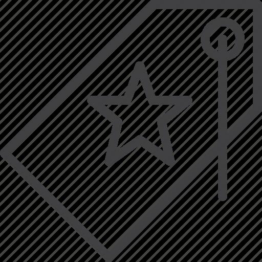 favorite, price, star, tag icon