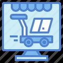 ecommerce, online, shop, shopping