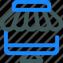 market, online, shop, store icon