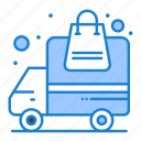 delivery, order, transportation, truck icon
