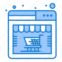 online, shop, store, web icon