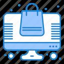 bag, online, shopping, store