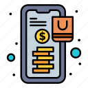 banking, online, payment, shopping icon
