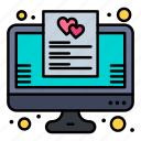 favorite, list, online, wish icon