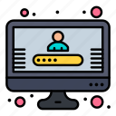 account, profile, registration icon