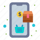 mobile, order, purchase, shopping