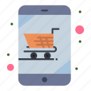 cart, device, online, shop, shopping