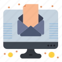 letter, news, newsletter, newspaper icon