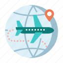 air mail, e-commerce, global, package, registered air mail, shipping, travel icon