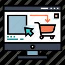 add, buy, cart, e-commerce, online, shopping, website icon