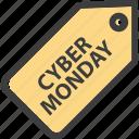 cyber, monday icon