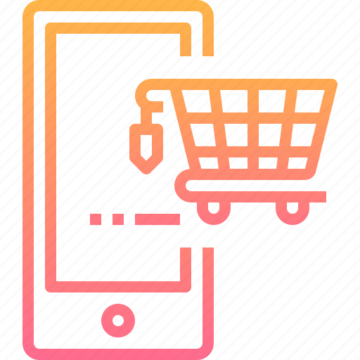 Mobile, online, phone, retail, shopping, smart icon - Download on Iconfinder