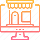 commerce, online, shop, store icon