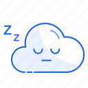 empty, rest, sleep, snooze, state icon