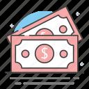 cash, dollar, dollar bills, money, wealth