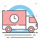 delivery, provide, shipping icon