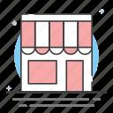 online shop, online store, shop, store, web store icon